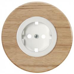 Baltas elektros lizdas su vaikų apsauga - 3 - 10,87€
