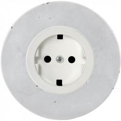 Baltas elektros lizdas su vaikų apsauga - 2 - 10,87€