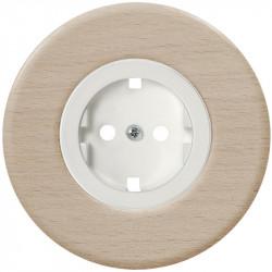 Baltas elektros lizdas su vaikų apsauga - 6 - 10,87€