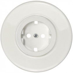 Baltas elektros lizdas su vaikų apsauga - 7 - 10,87€