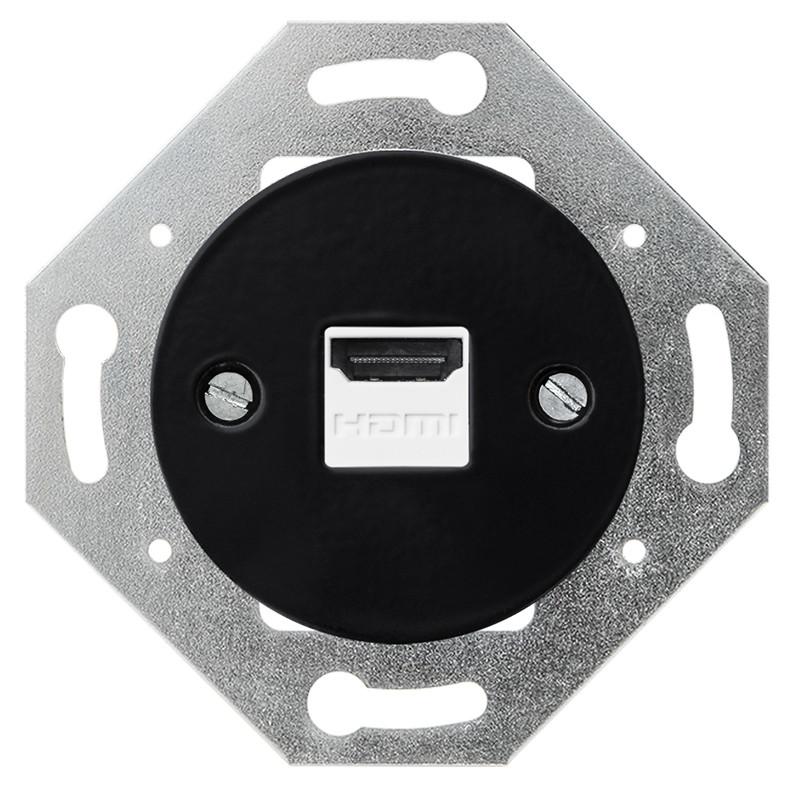 Juodas HDMI lizdas - 1 - 31,15€