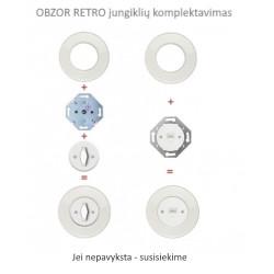 OBZOR RETRO duomenų lizdų komplektavimas