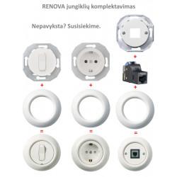 Renova baltas mygtukas - 3 - 16,63€