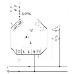 Impulsinė relė Eltako ESR61NP-230V+UC - 2 - 39,16€