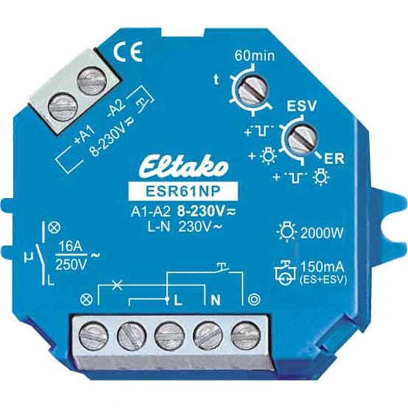 Impulsinė relė Eltako ESR61NP-230V+UC - 1 - 39,16€