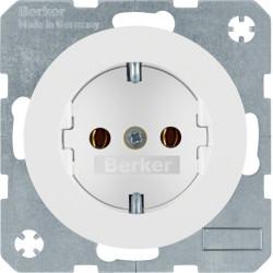 Berker R.1 baltas elektros lizdas