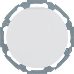 Berker R.1 baltas elektros lizdas pasukamas 45 kampu su dangteliu