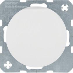 Berker R.1 baltas elektros lizdas su dangteliu