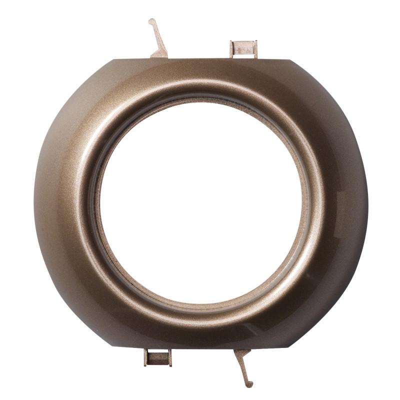 Schneider Electric Renova vidinis elektros jungiklių rėmelis bronzos spalvos