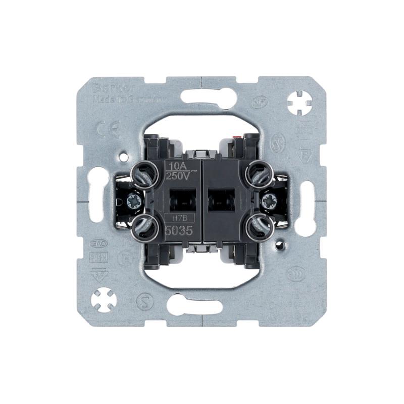 Berker R1 dviejų grupių mygtukas
