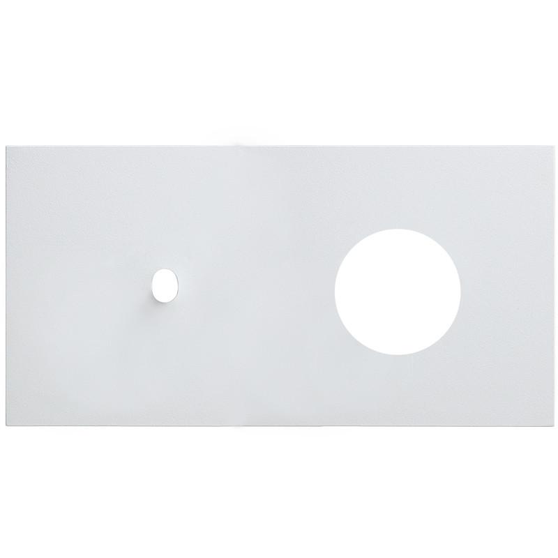 VECTIS baltas rėmelis šviesos jungtukui ir elektros rozetei
