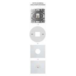 OBZOR Vectis elektros jungiklių komplektavimas