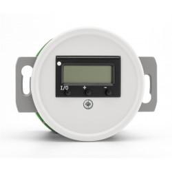 Baltas THPG duroplasto šildomų grindų termostatas be rėmelio