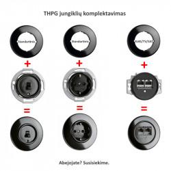 Porceliano mygtukas - 5 - 41,00€