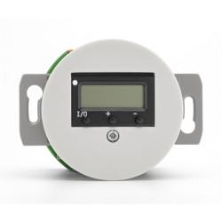 Baltas THPG porceliano šildomų grindų termostatas be rėmelio