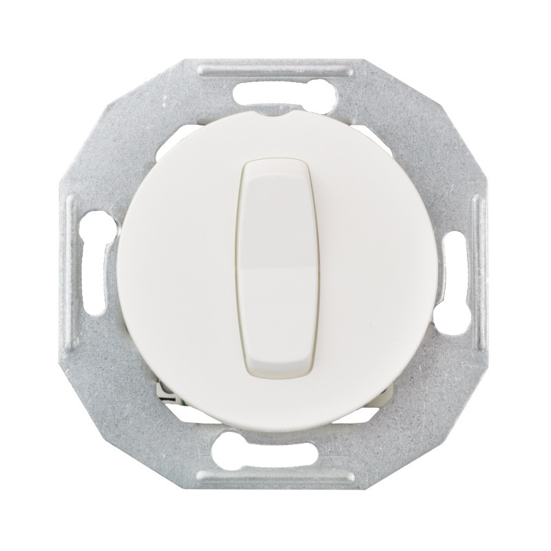 Renova baltas perjungiklis jungtukas elektros jungiklis