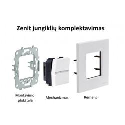 ABB Zenit elektros jungiklių komplektavimas