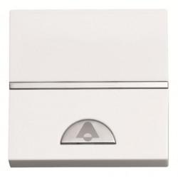 ABB Niessen Zenit skmabučio mygtukas platus baltas