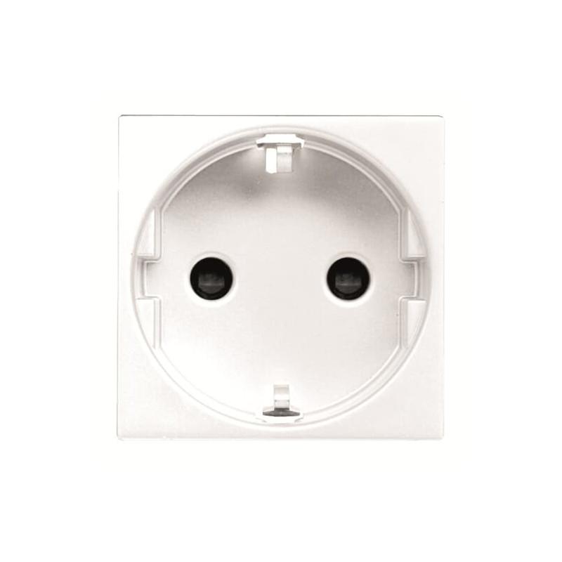 ABB Niessen Zenit elektros lizdas rozetė balta