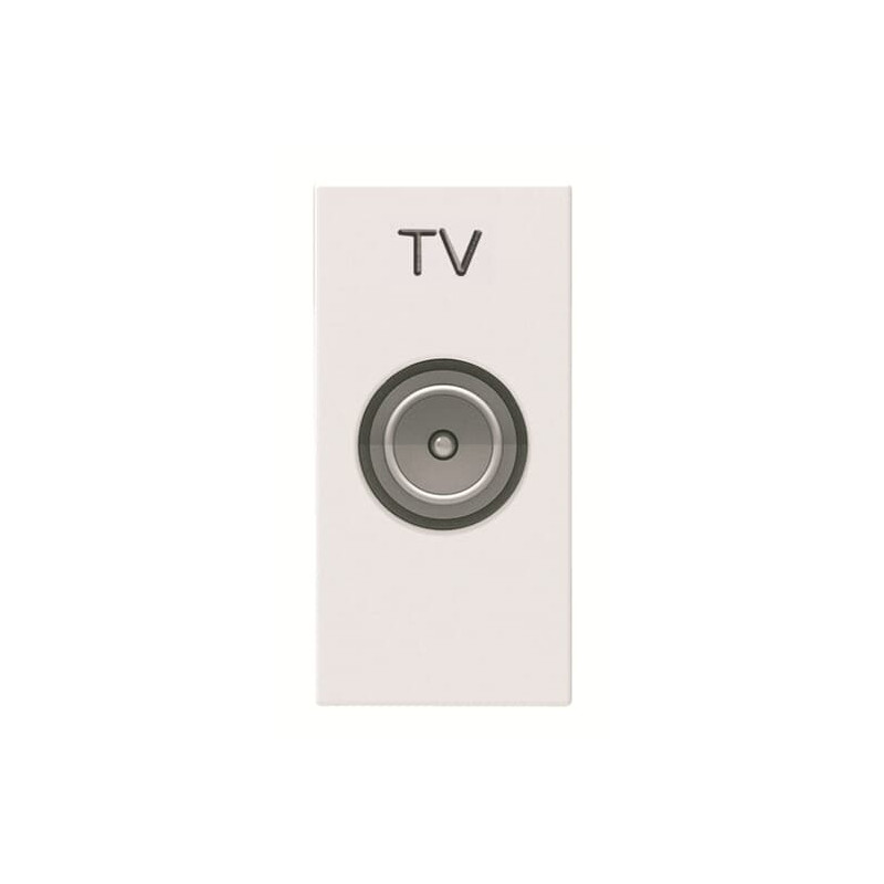ABB Niessen Zenit TV lizdas rozetė baltas