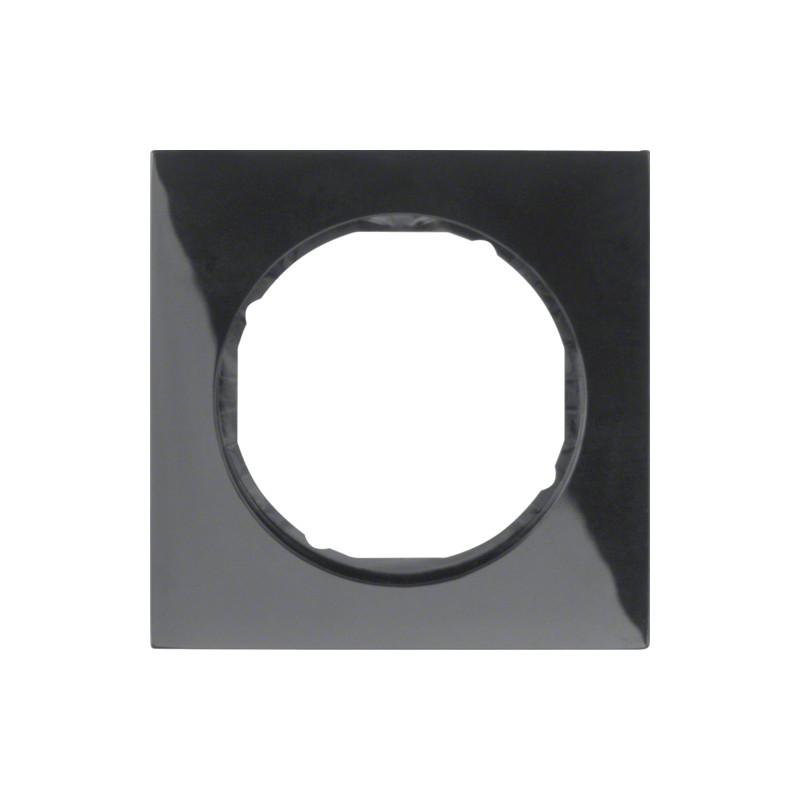Berker R.3 juodas vienvietis rėmelis