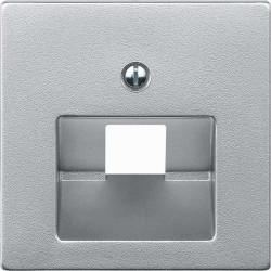 Merten-system-M-design-kompiuterinio-rj45-LAN-lizdo-dangtelis-viengubas-pilkas