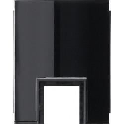 Gira studio virštinkinės montavimo dėžutės jungikliui juodas kanalo 15x15 prijungimo adapteris