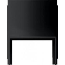 Gira studio virštinkinės montavimo dėžutės jungikliui juodas kanalo 20x30 prijungimo adapteris