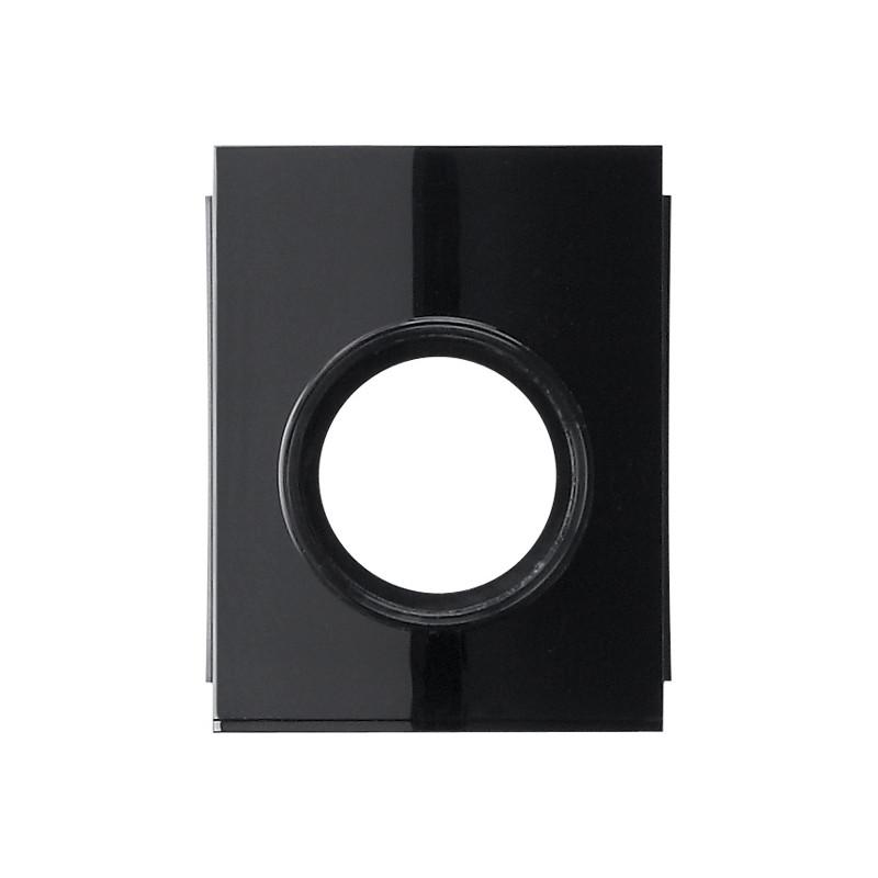 Gira studio virštinkinės montavimo dėžutės jungikliui juodas kanalo d20 prijungimo adapteris