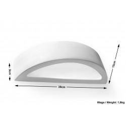 Sieninis keraminis šviestuvas ATENA - 5 - 18,23€