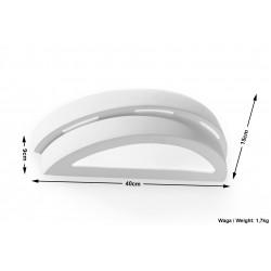 Sieninis keraminis šviestuvas HELIOS - 5 - 18,46€