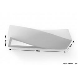 Sieninis keraminis šviestuvas SIGMA - 6 - 24,68€