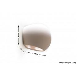 Sieninis keraminis šviestuvas GLOBE - 6 - 15,96€