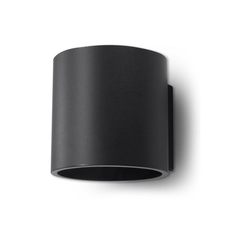 Sieninis šviestuvas ORBIS 1 juodas - 1 - 24,62€
