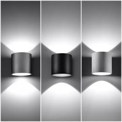 Sieninis šviestuvas ORBIS 1 juodas - 4 - 24,62€