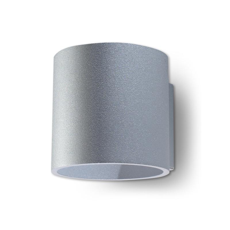 Sieninis šviestuvas ORBIS 1 pilkas - 1 - 24,62€