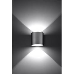 Sieninis šviestuvas ORBIS 1 pilkas - 3 - 24,62€