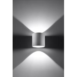 Sieninis šviestuvas ORBIS 1 baltas - 3 - 24,62€