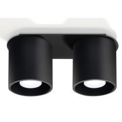 Plafonas ORBIS 2 juodas - 1 - 51,98€