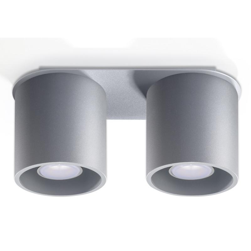 Plafonas ORBIS 2 pilkas - 1 - 51,98€