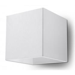 Sieninis šviestuvas QUAD 1 baltas - 1 - 25,16€