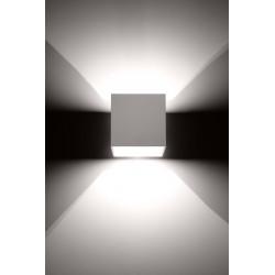 Sieninis šviestuvas QUAD 1 baltas - 3 - 25,16€