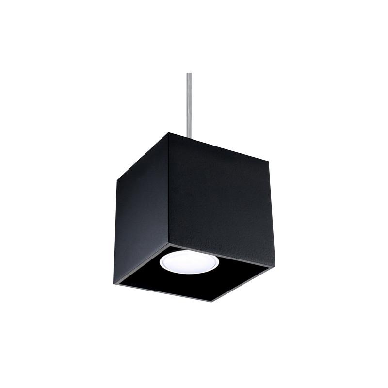 Pakabinamas šviestuvas QUAD 1 juodas - 1 - 30,73€