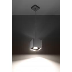 Pakabinamas šviestuvas QUAD 1 pilkas - 3 - 30,73€