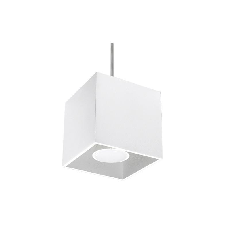 Pakabinamas šviestuvas QUAD 1 baltas - 1 - 30,73€