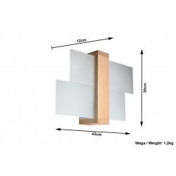 Sieninis šviestuvas FENIKS 1 - 5 - 35,76€