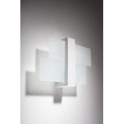 Sieninis šviestuvas FENIKS 1 baltas - 2 - 35,76€