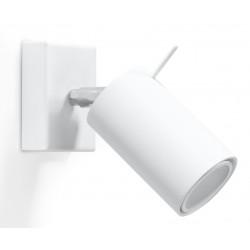 Sieninis šviestuvas RING baltas - 1 - 19,05€