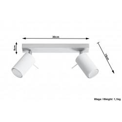 Plafonas RING 2 baltas - 5 - 34,04€