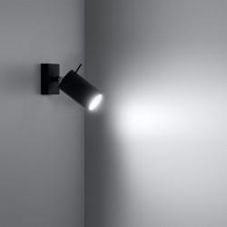 Sieninis šviestuvas RING juodas - 3 - 19,05€